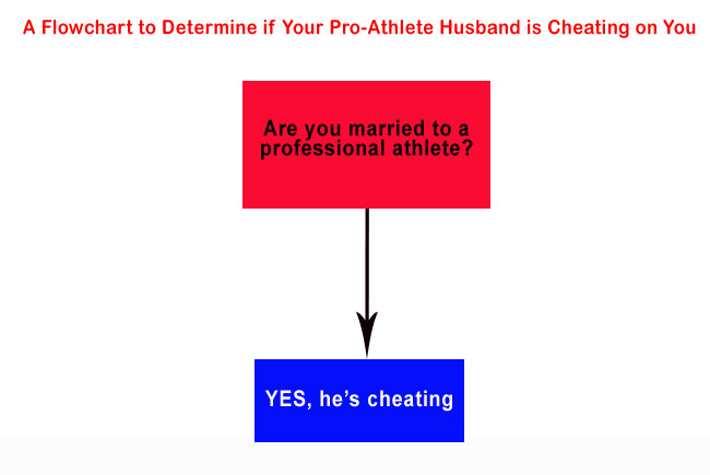 Pro Athlete Cheating Flowchart