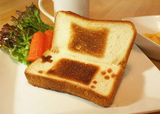 Nintendo DS Toast